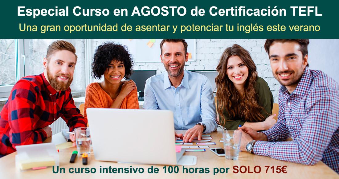 Oportunidad TEFL Madrid