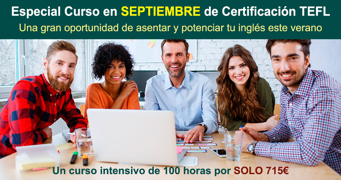 Oportunidad TEFL Madrid